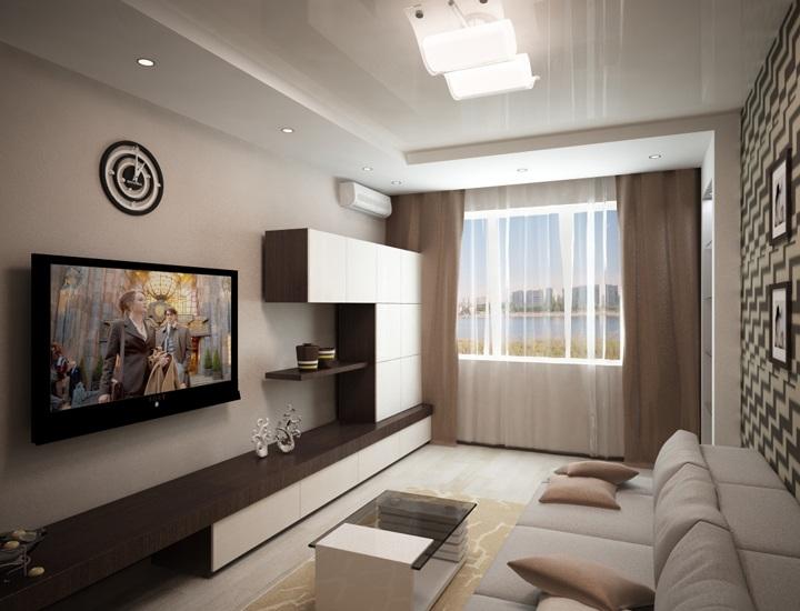 Дизайн комнаты.зал