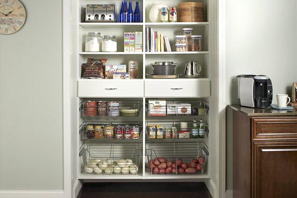 ящики и шкафы в кухне