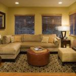 Маленькой гостиной - минимум мебели