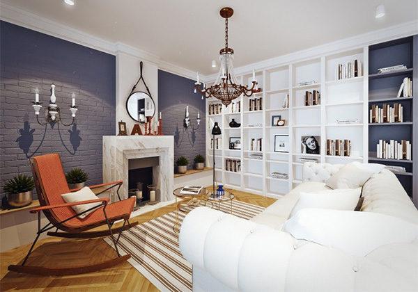 Даже небольшое зеркало сделает вашу комнату больше