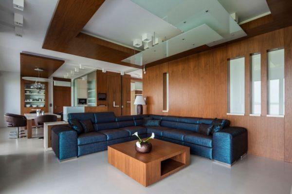 угловой диван в дизайне