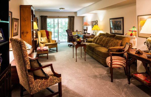 роскошный дизайн гостиной