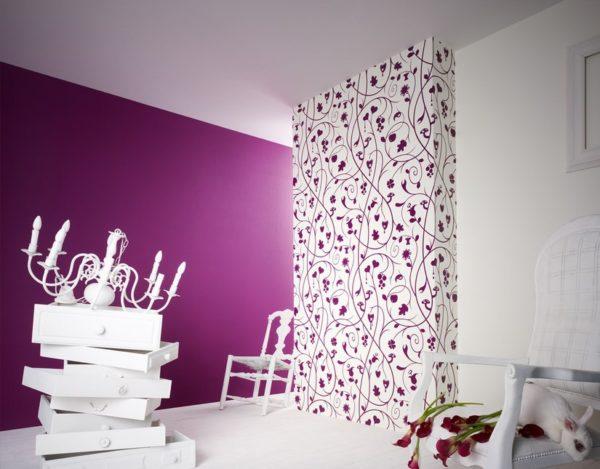 оригинальный дизайн в гостиной комнате