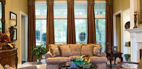 шторы для гостиной комнаты