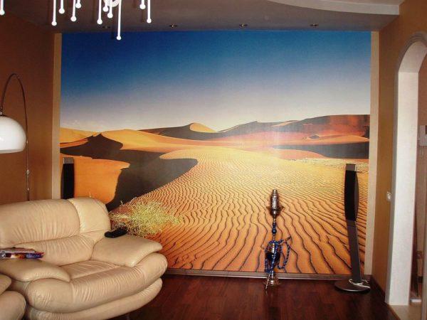Фотообои - путешествие в мир пустыни