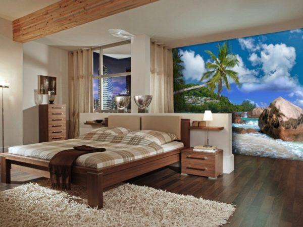 Кусочек рая в спальне влюбленных