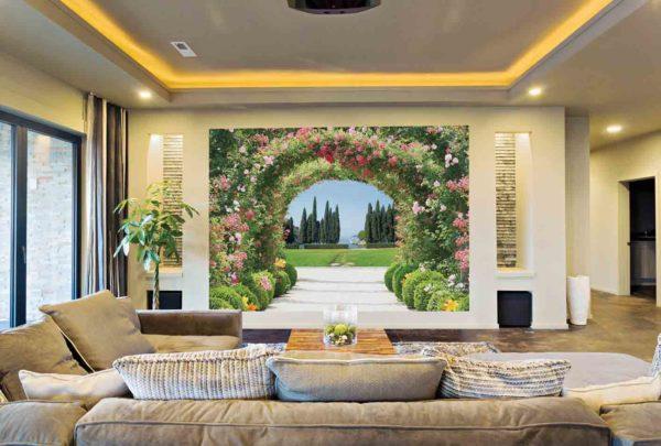 В гостиной стиль минимализм