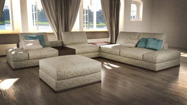 текстильная мягкая мебель в гостиную