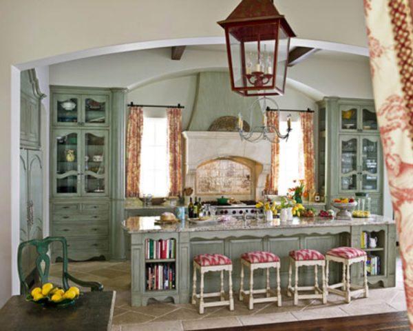 Сказочная кухня в стиле прованс