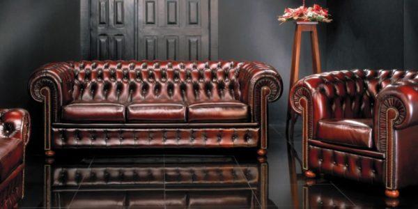 Традиционная мебель - диван Честерфилд